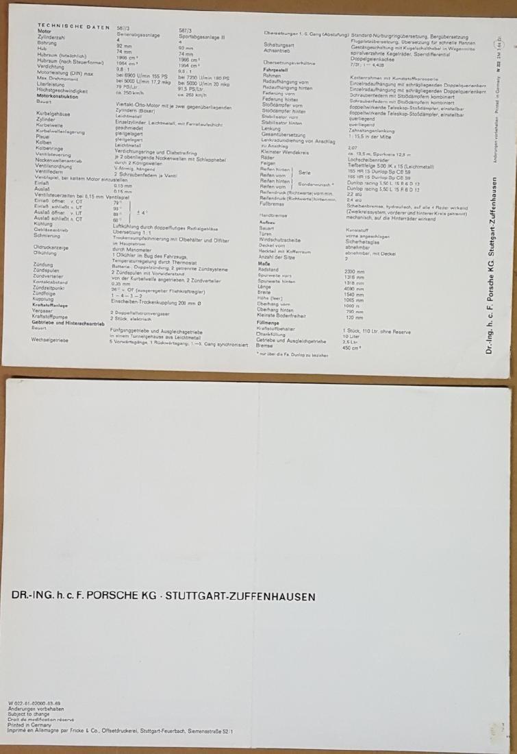 Porsche 904 and 917 items - 4