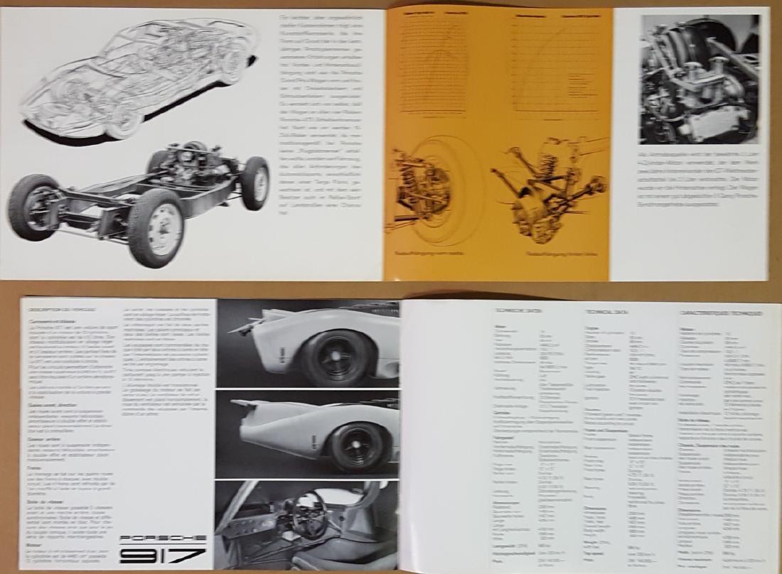Porsche 904 and 917 items - 5