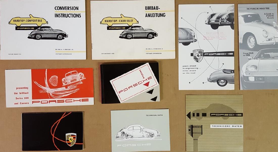 Misc Porsche 356 items