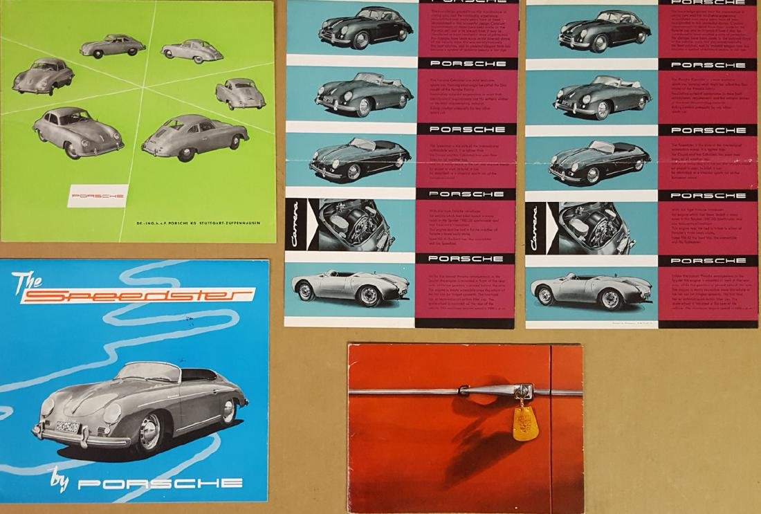 Five Porsche 356A broc incl Speedster