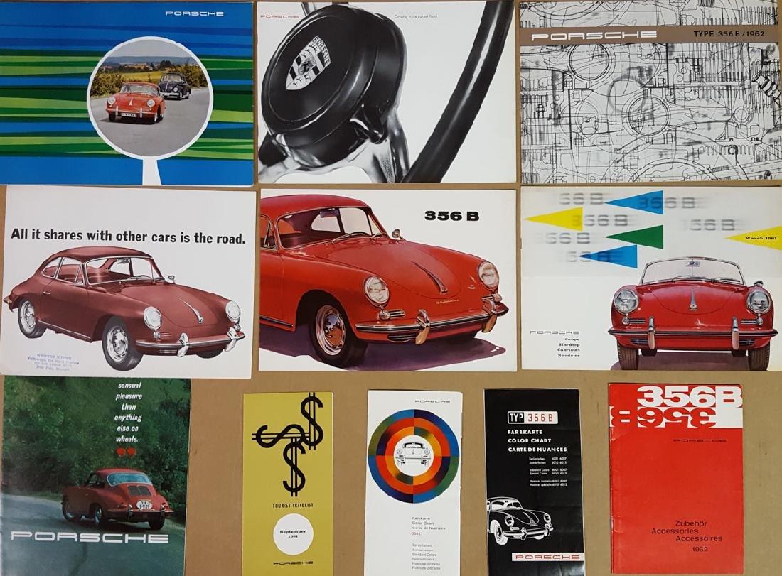 Porsche 356 B brochures, etc