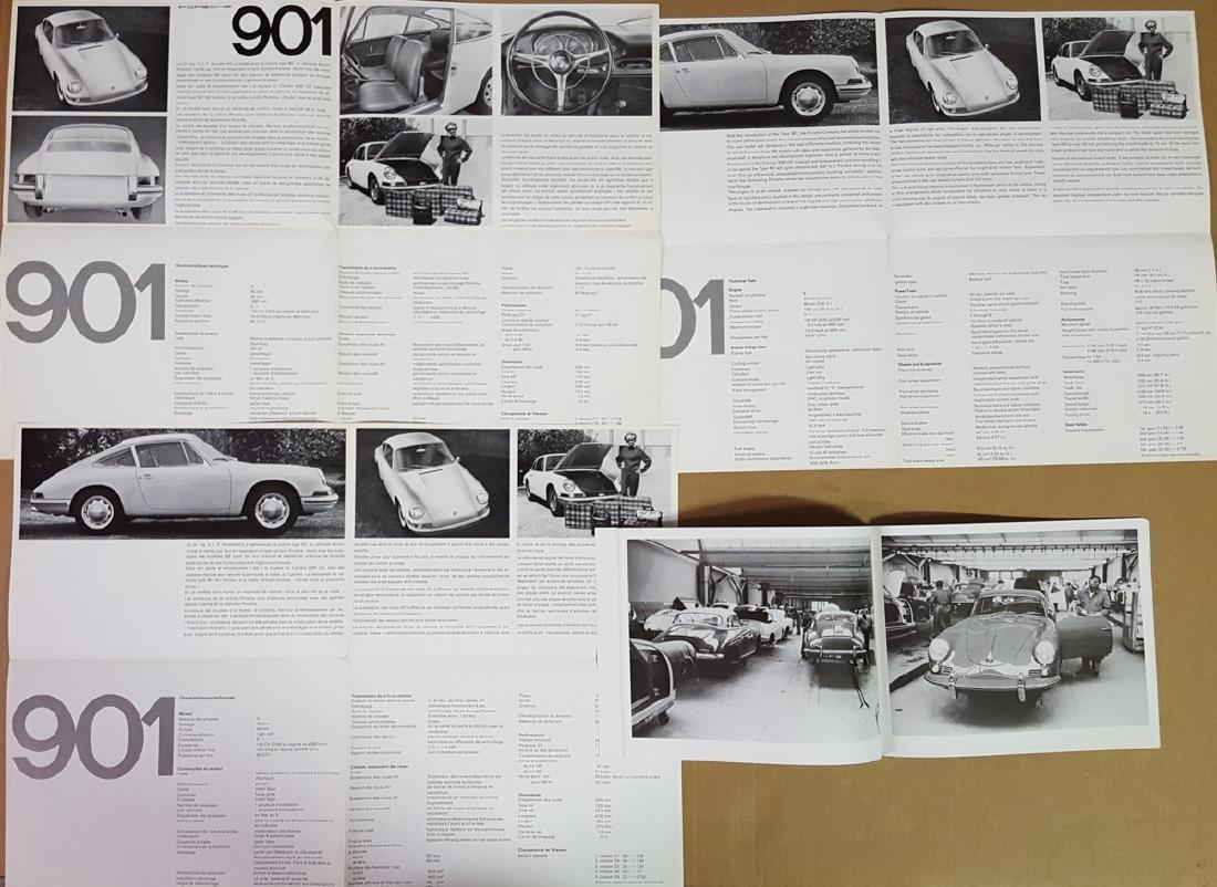 Three Porsche 901 brochures - 3