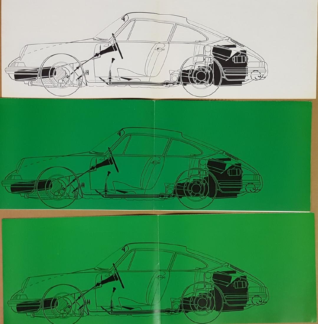 Three Porsche 901 brochures - 4