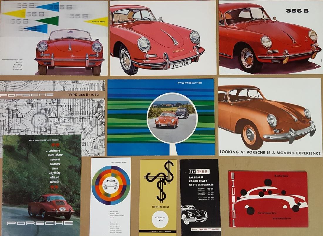 Porsche 356 B items