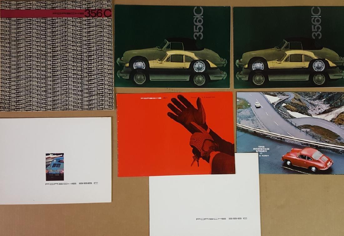 Porsche 356 C brochures