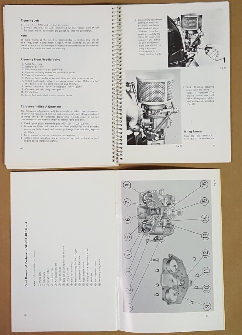 Porsche 356 B manual, Super 90 supp - 2