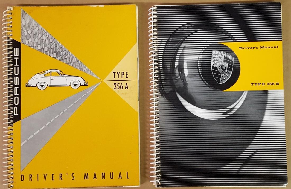 Two Porsche 356 manuals