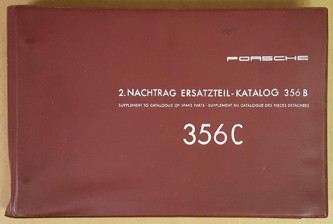 Porsche 356 C parts manual