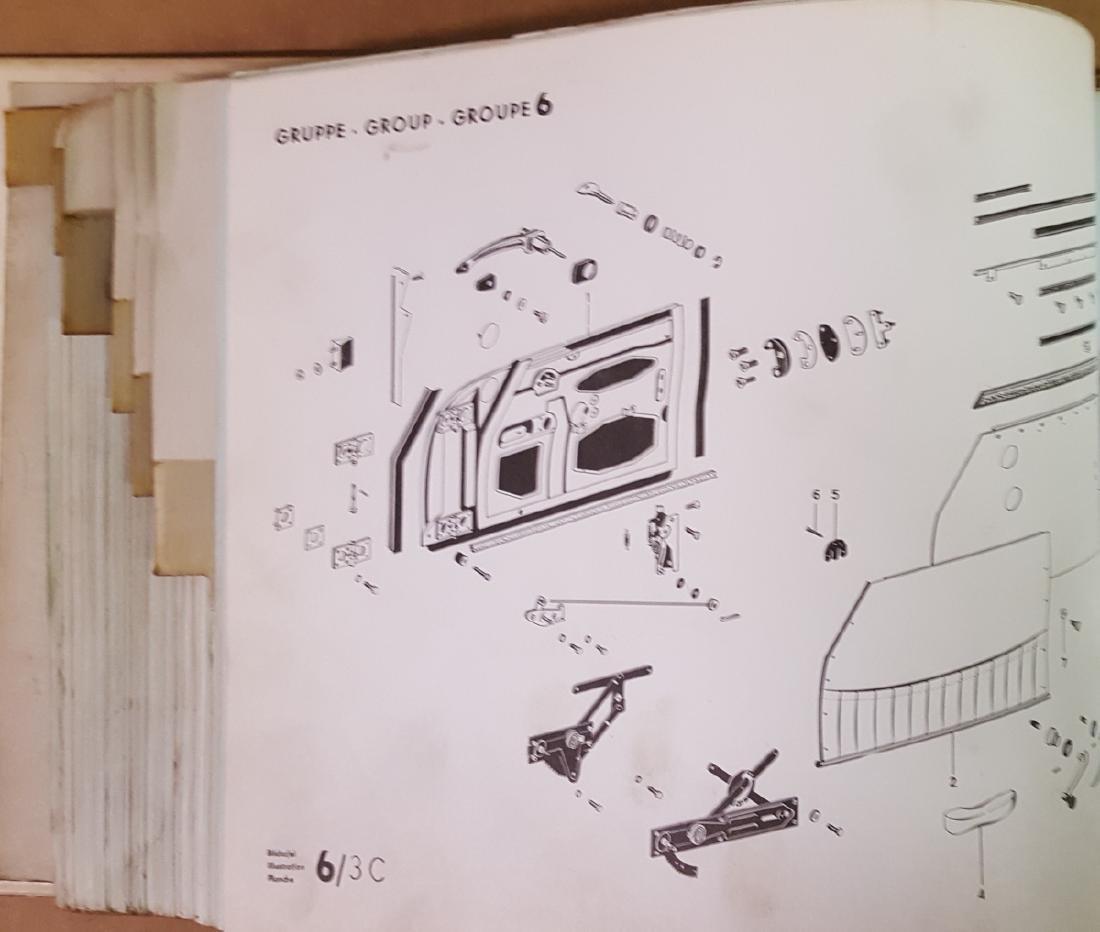 Porsche 356 C parts manual - 4