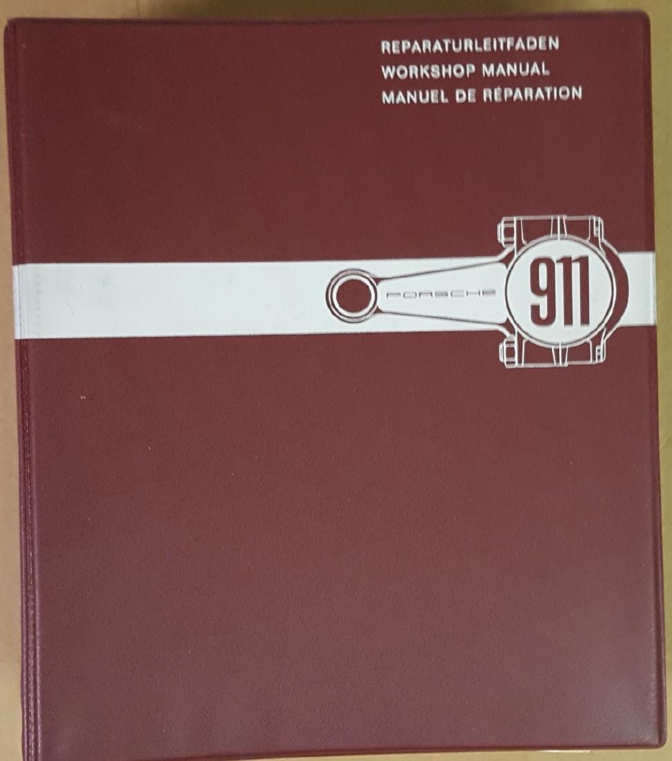 Porsche early 911 Workshop Manual, 6/65