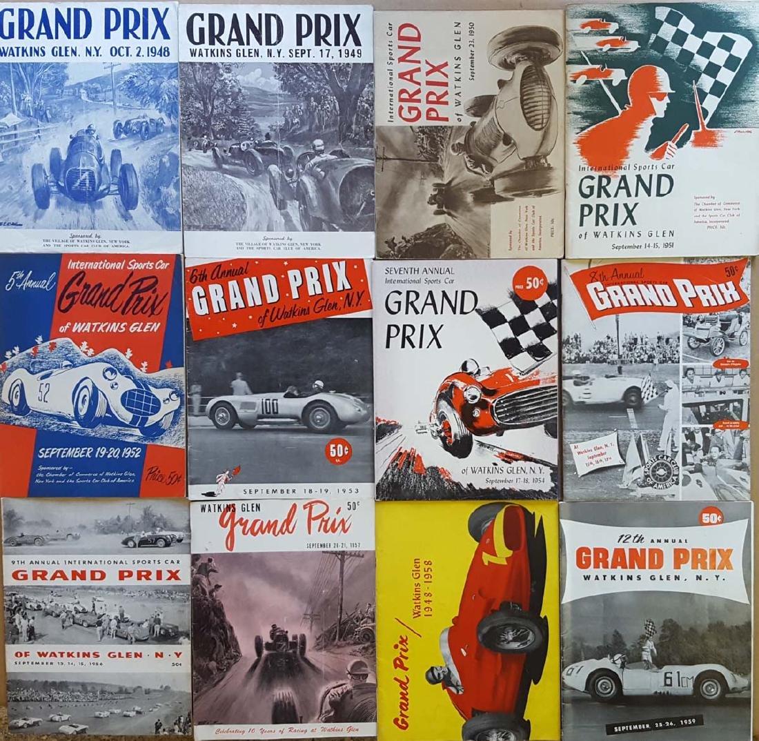 1948-1959 Watkins Glen programs