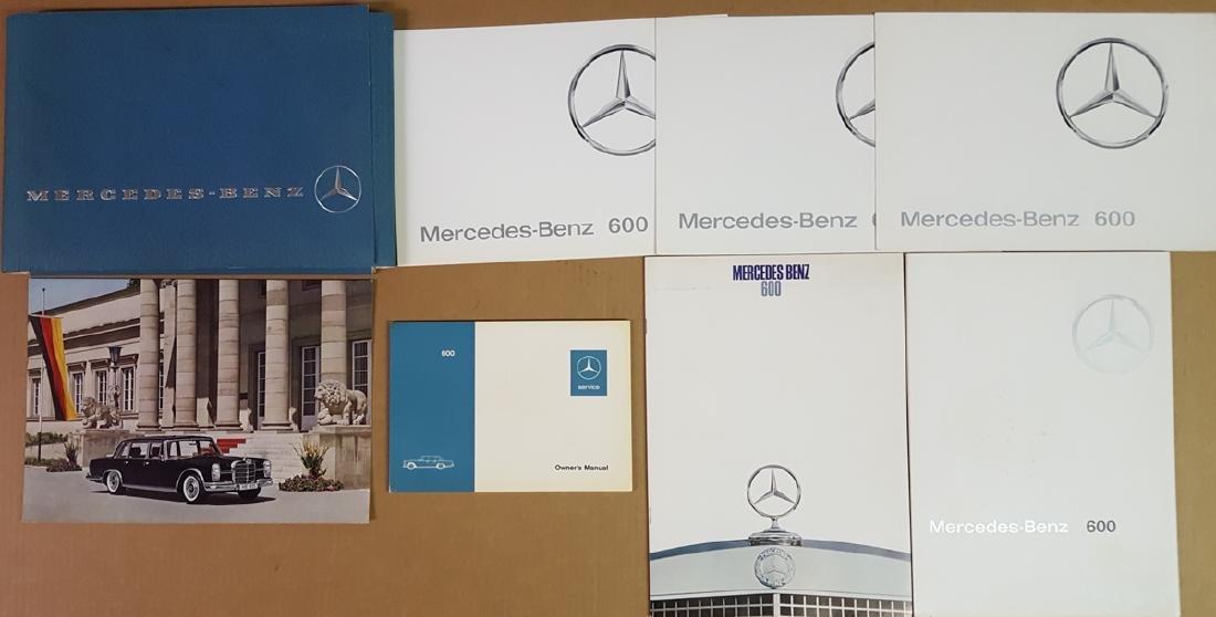 Mercedes Benz 600 items