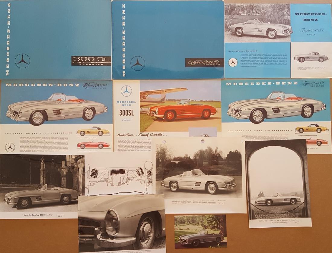 Merc Benz 300 SL items