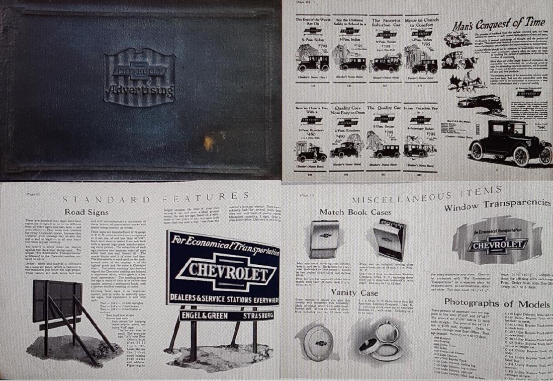 1924 Chevrolet Album, Model T brochures