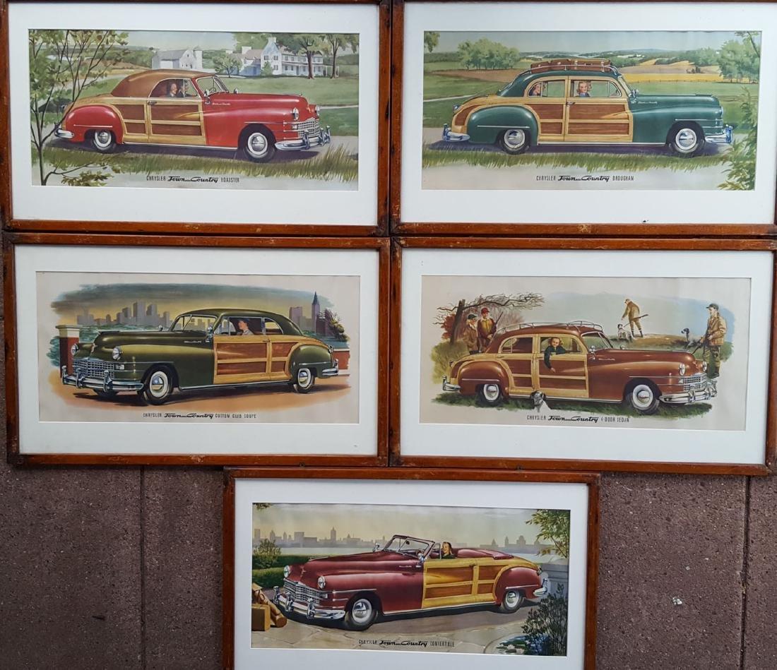 1946-48 Chrysler Town & Country prints
