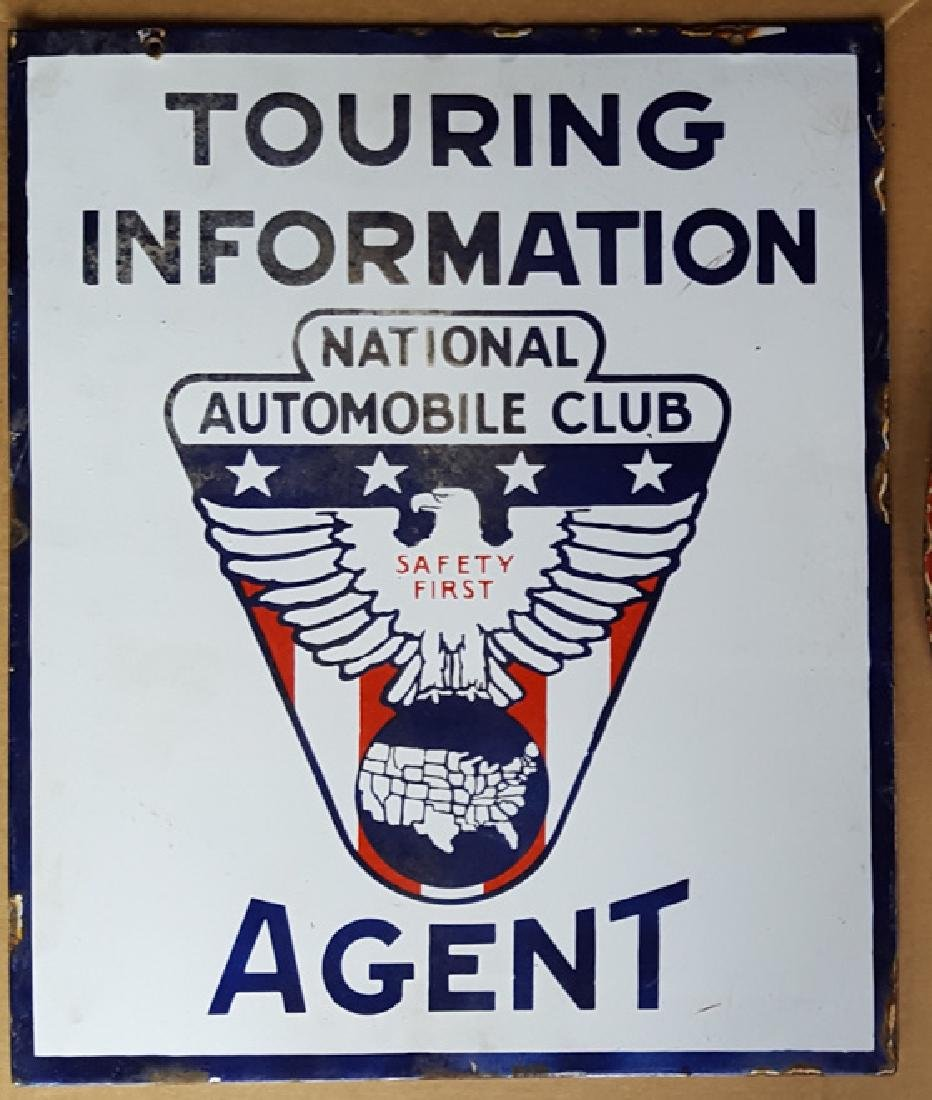 National Auto Club Agent sign