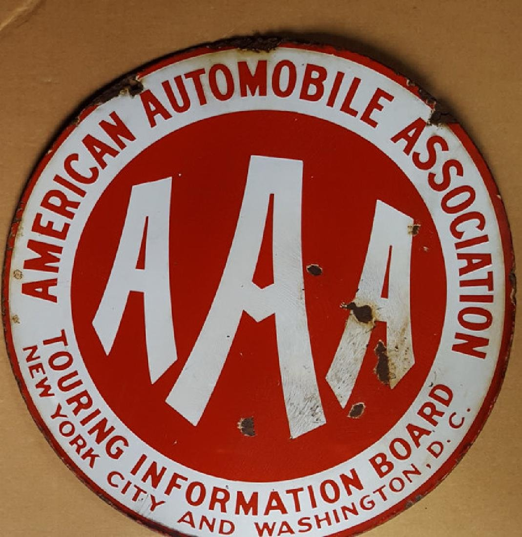 AAA Touring Info sign