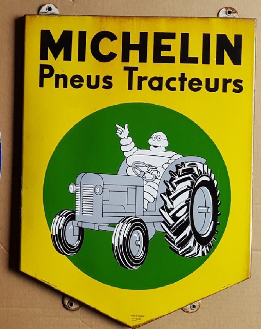 Michelin tractor tire dealer sign