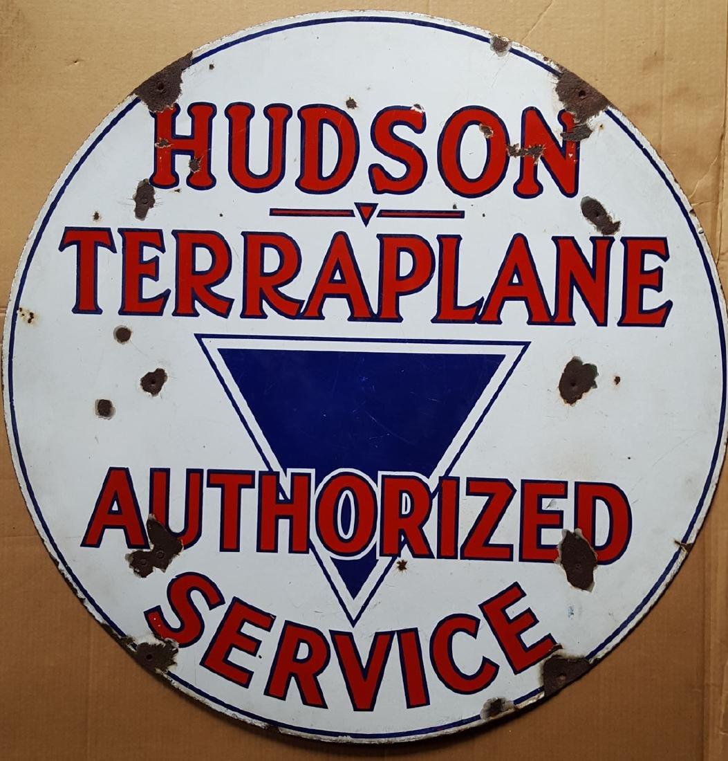 Hudson Terraplane Auth Service sign
