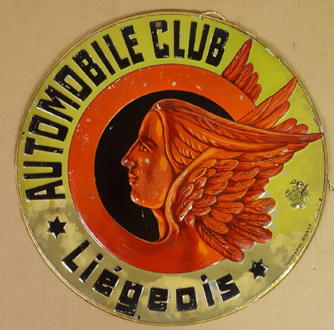 Auto Club Liegeois sign