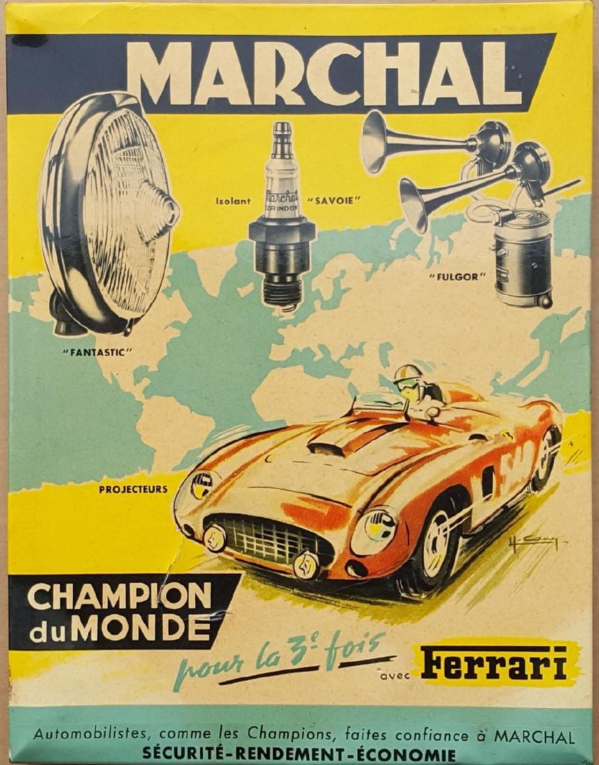 Marchal Ferrari accessory sign