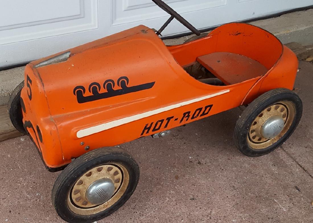 Garton Hot Rod pedal car, original paint