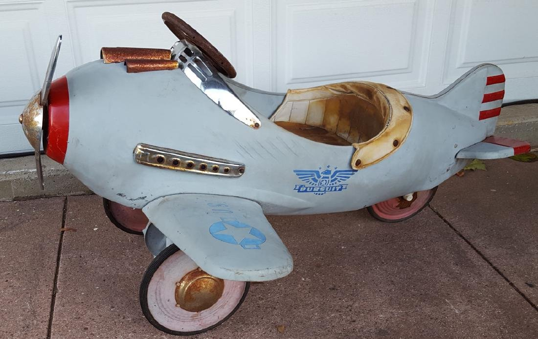 1941 style Murray airplane pedal car