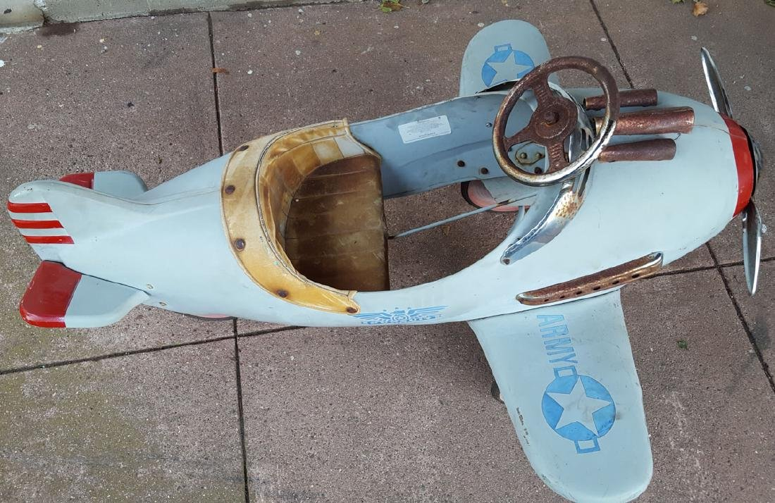 1941 style Murray airplane pedal car - 3