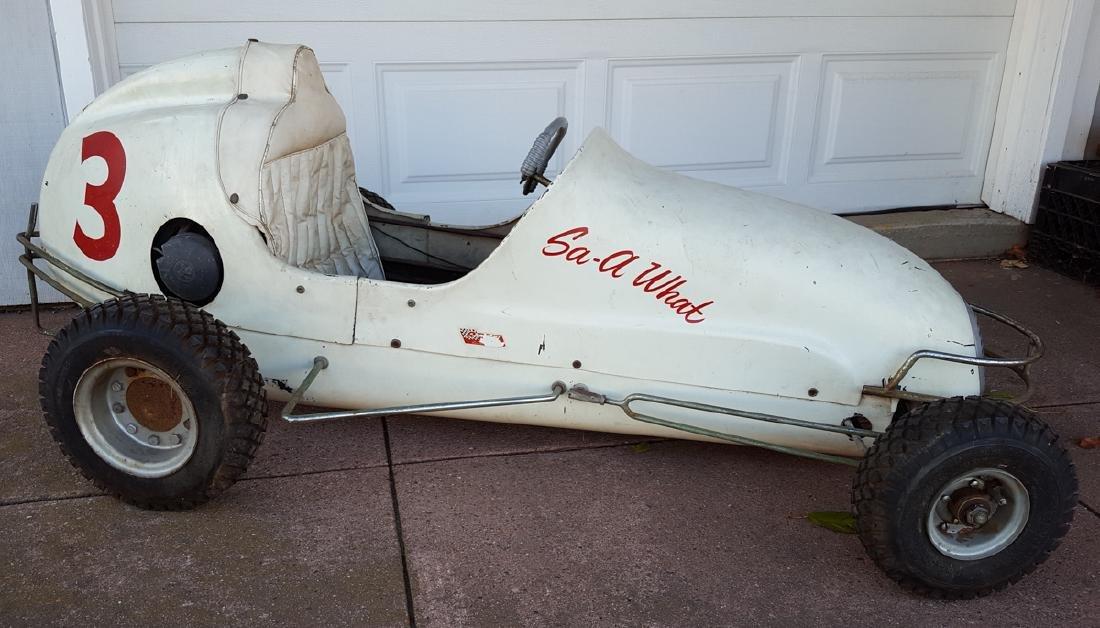 Quarter midget race car, gas powered