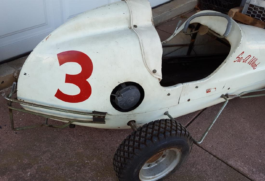Quarter midget race car, gas powered - 3