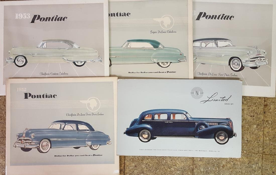Lot of showroom cards, poster etc