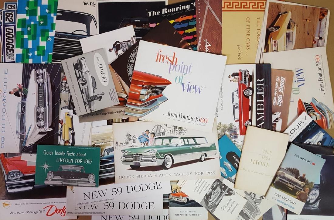 Lot of 1950's-1960's brochures - 2