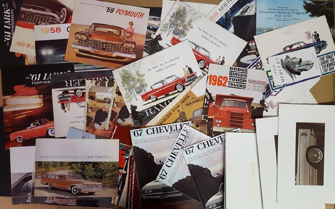 Lot of 1950's-1960's brochures - 3