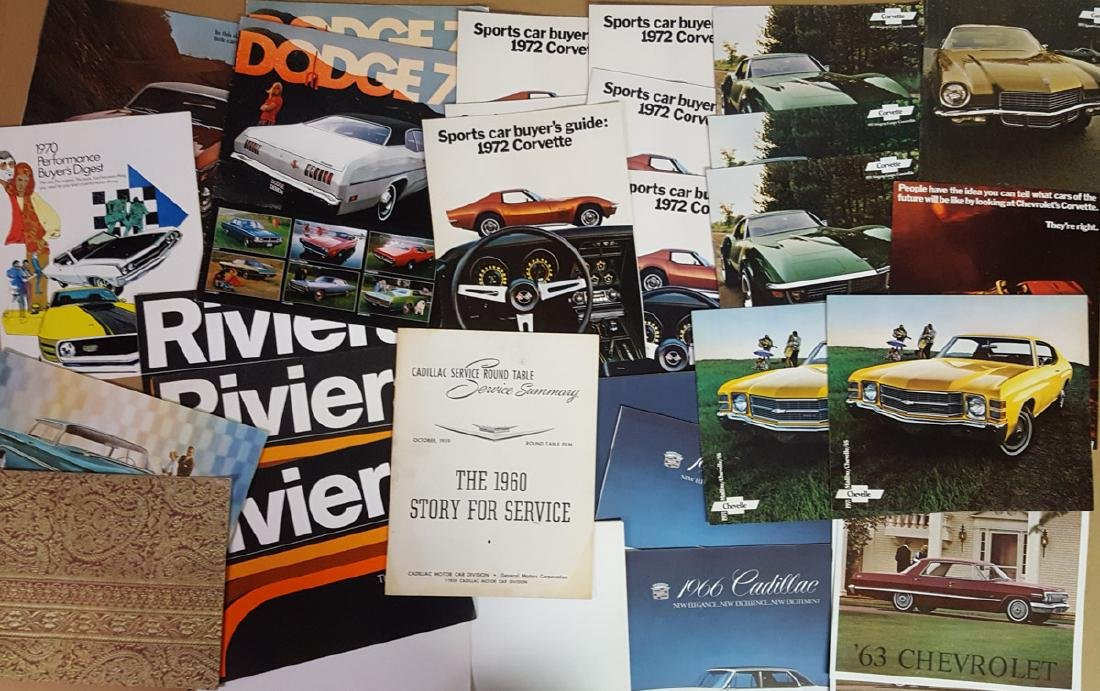 1960's-early 1970's brochures