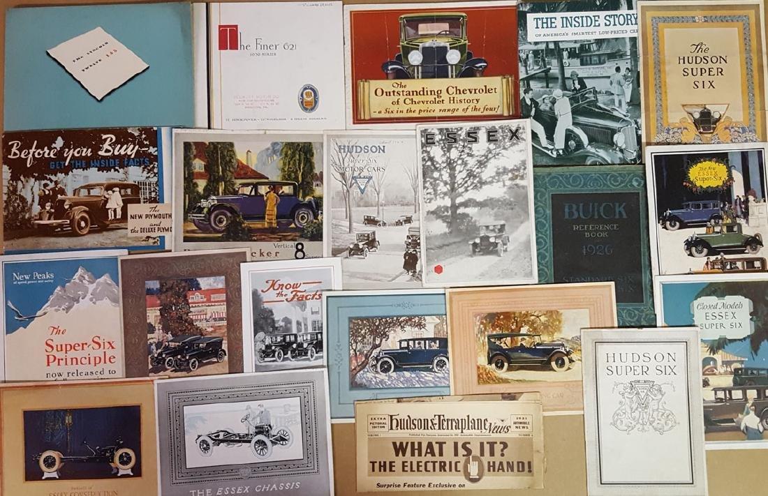 Misc teens - 1933 brochures