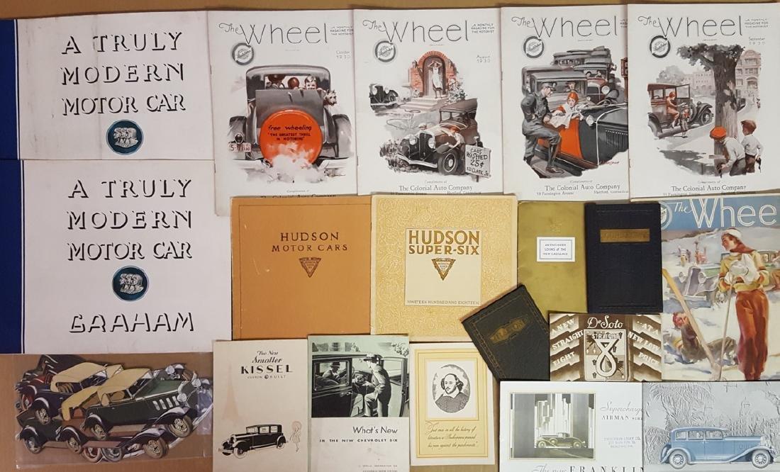 Misc teens - 1933 brochures - 2