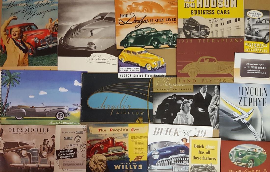 1934 - 1940's brochures