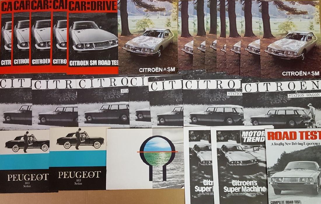 Misc import brochures