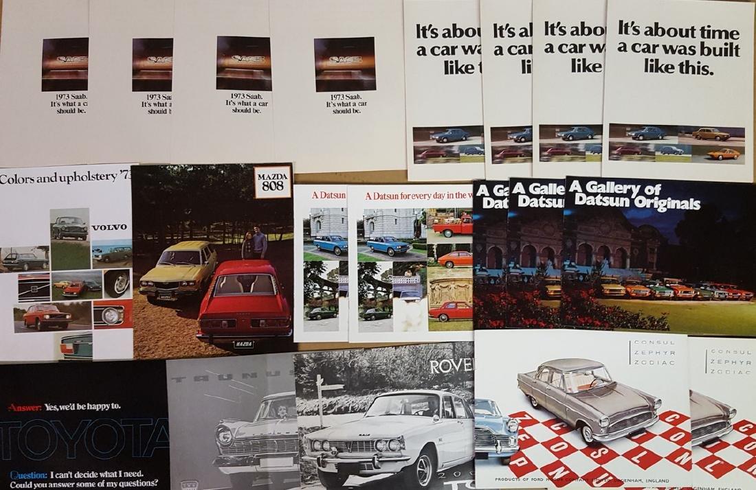 Misc import brochures - 2