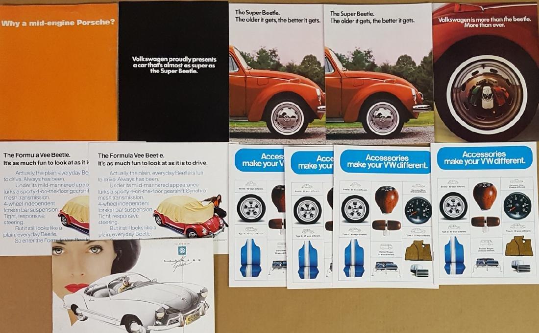 Porsche and VW items - 2