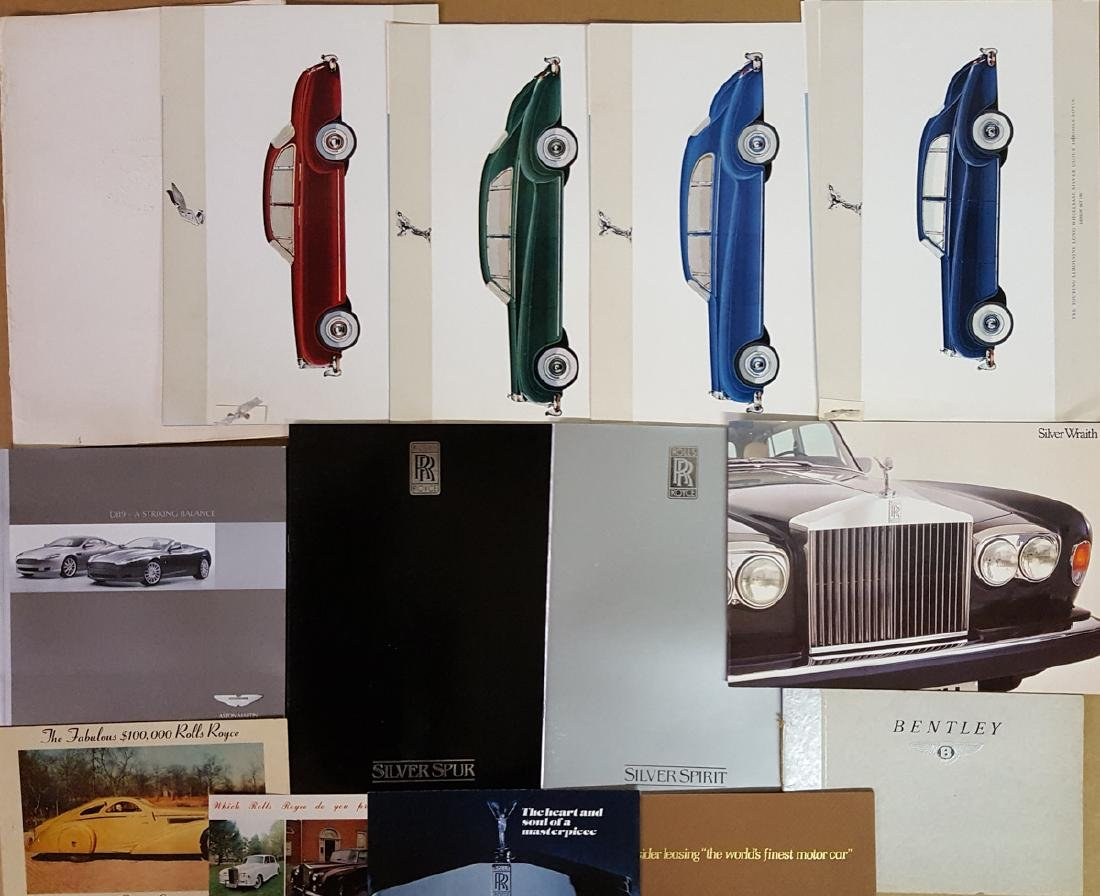 British sports car & other brochures - 3