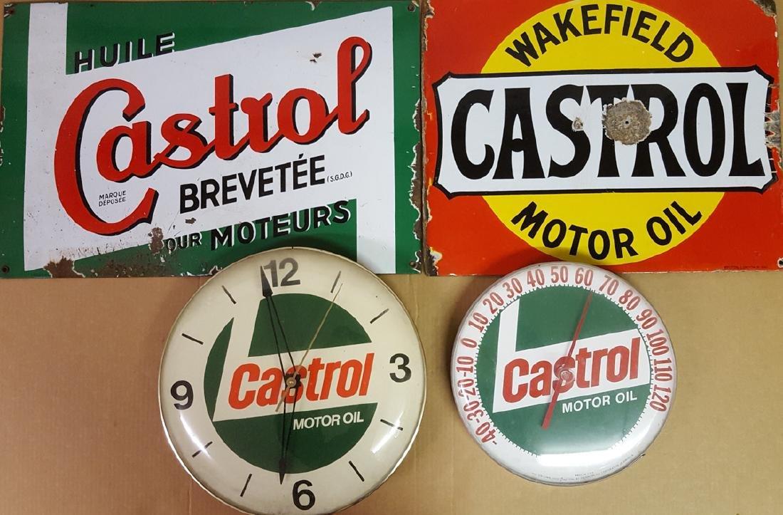 Castrol garage items