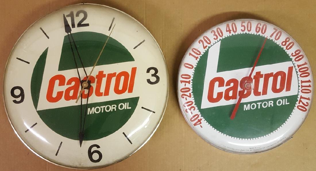Castrol garage items - 2