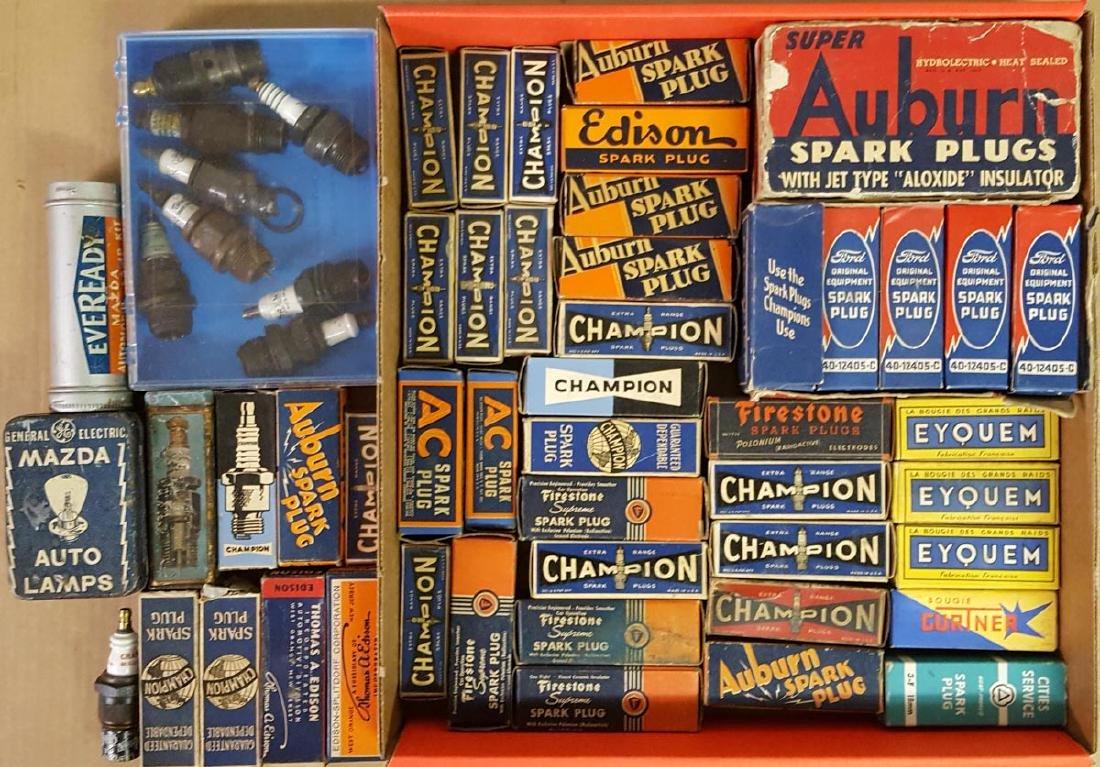 Spark plug collection