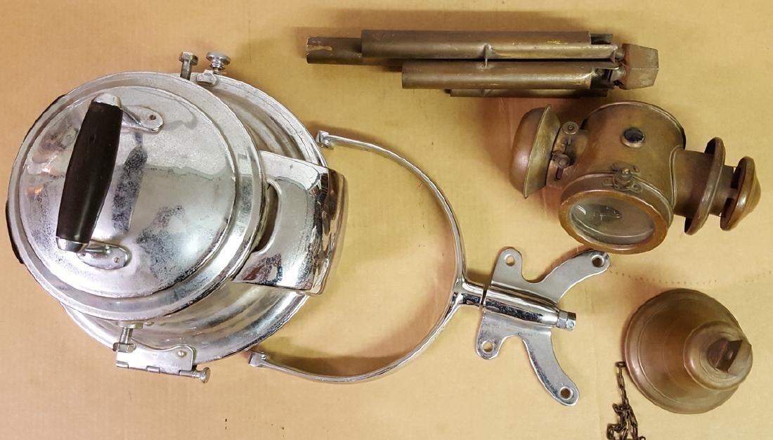 Brass accessories - spotlight, etc