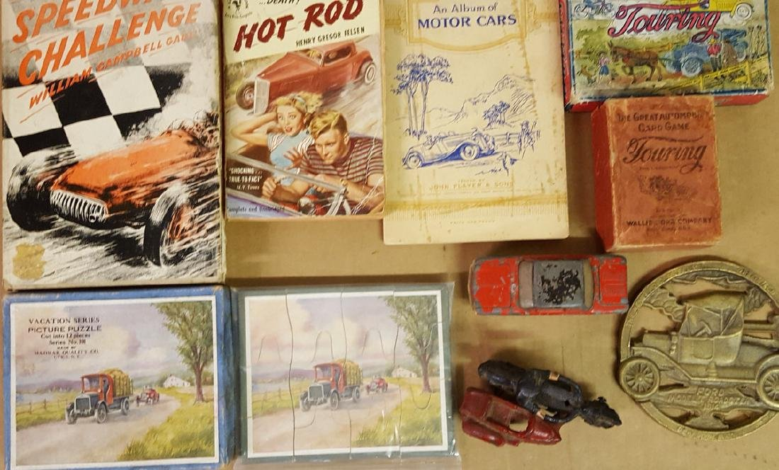 Lot of misc toys, books, trade cards, etc