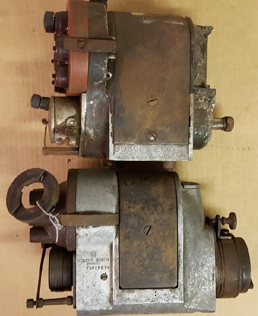 Three six cylinder magnetos - 2