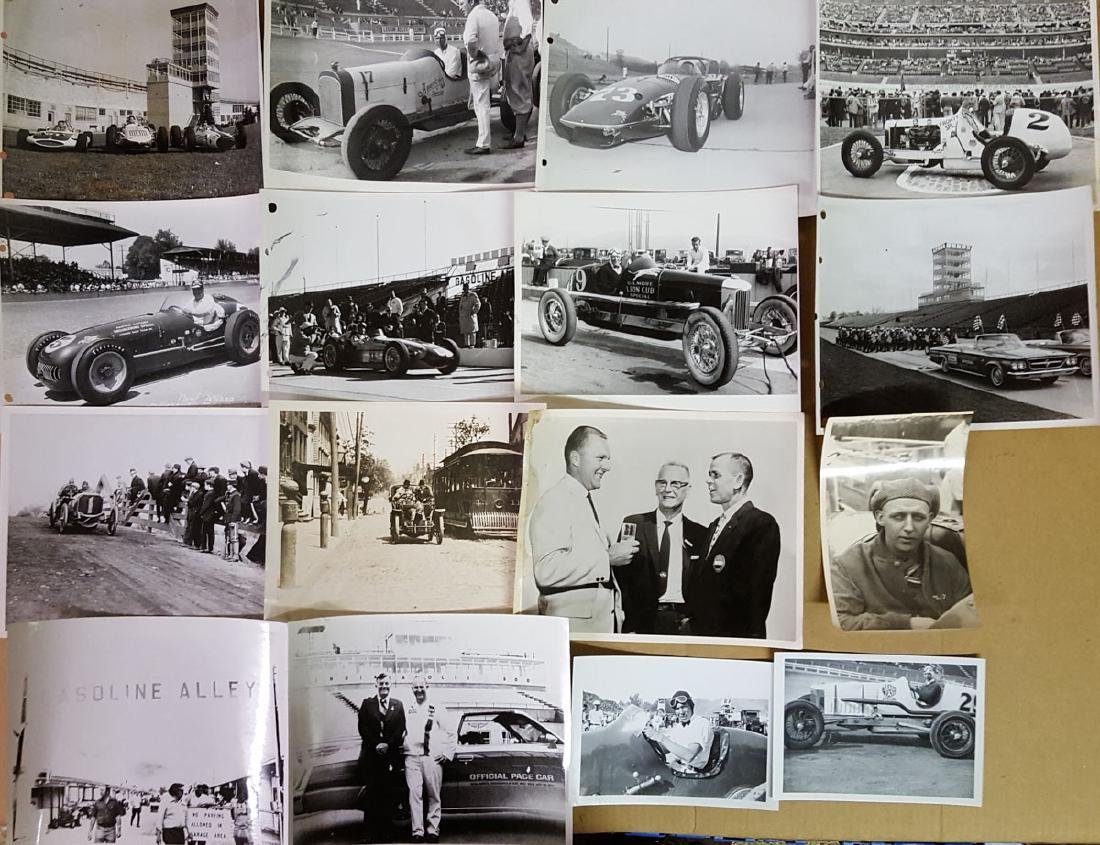 Indy 500 and earlly racing items - 2