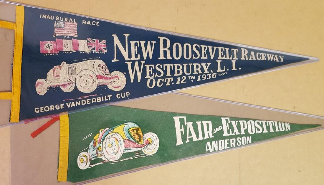 1936 Vanderbilt race, and another pennant