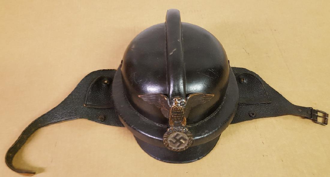 1940's era German motorcycle helmet
